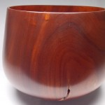 "Red Cedar Calabash with Koa InlaysPrice $3,500Dimensions: 17 1/2""W x 14 3/4""HBuy Now"