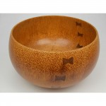 "Coconut Palm Calabash with InlayDimensions: 15 1/4"" W x 9""HPrice $2,900Buy Now"